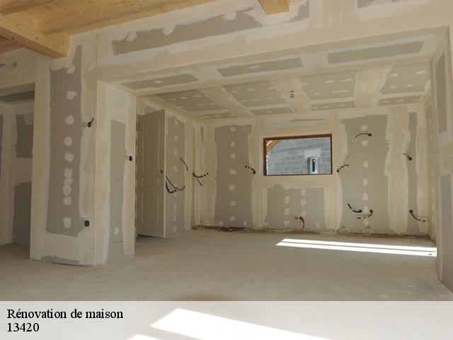 Rénovation de maison  13420