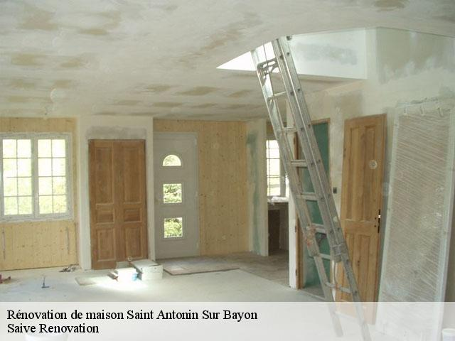 Rénovation de maison  saint-antonin-sur-bayon-13100