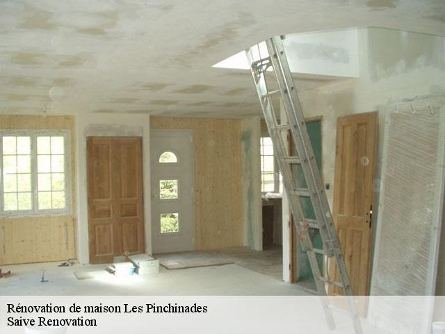 Rénovation de maison  les-pinchinades-13080