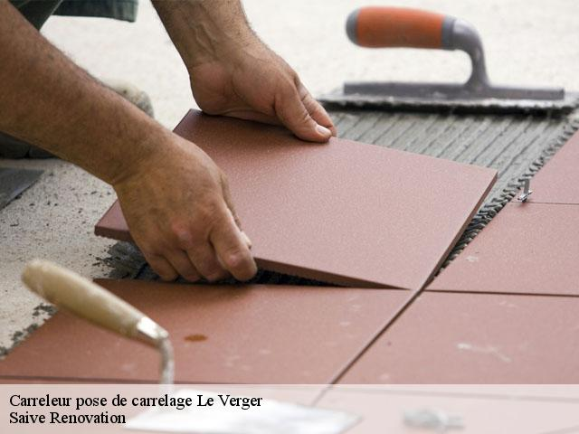 Carreleur pose de carrelage  le-verger-13500 Saive Renovation